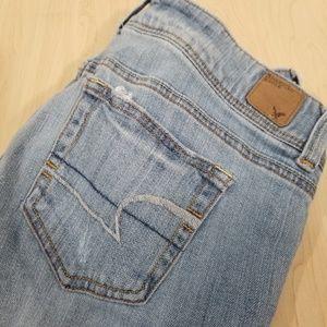 AE Slim Boot, Stretch Jean's 10 Short